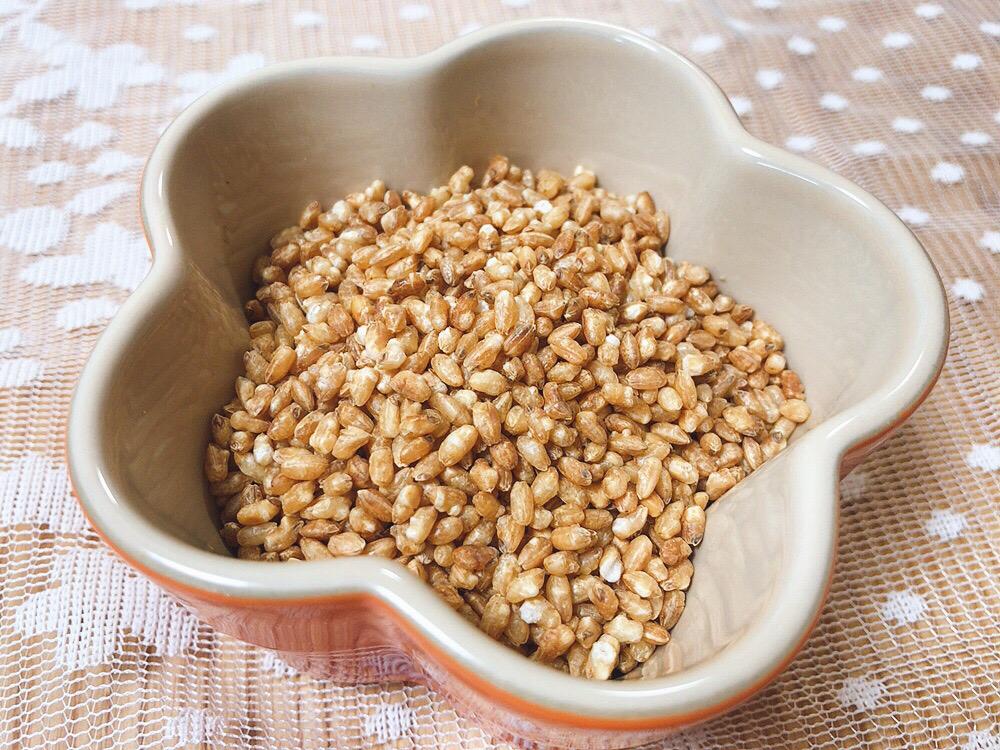 炒り玄米は保存食やおやつに最適
