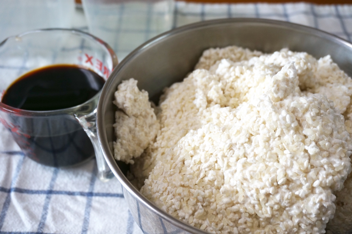 【簡単】おうちで出来る醤油麹の作り方【万能で美味しい発酵調味料】
