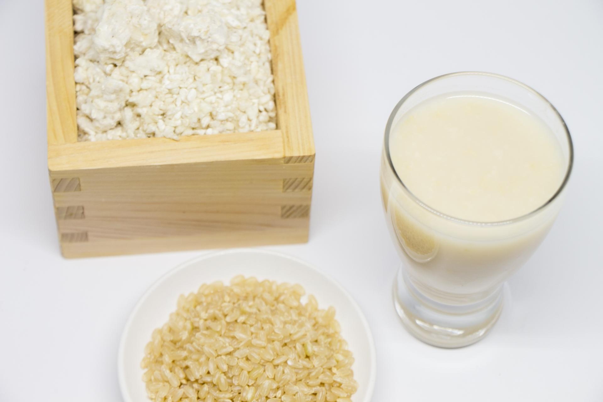 玄米を食べると胃もたれする人へ【違う形の玄米を取り入れる】